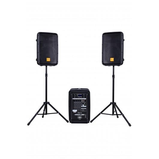 Sound equipment set with mixer Maximum Acoustics ARENA.380