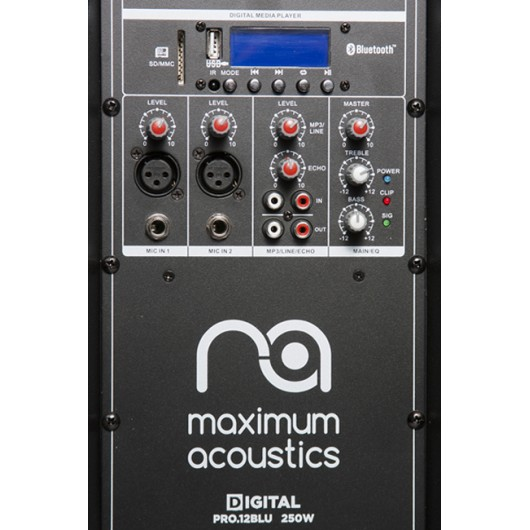 Active Loudspeaker Maximum Acoustics Digital PRO.12 BLU
