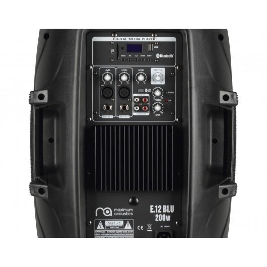 Active Speaker system Maximum Acoustics E.12 BLU