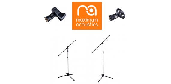 Maximum Acoustics microphone stands