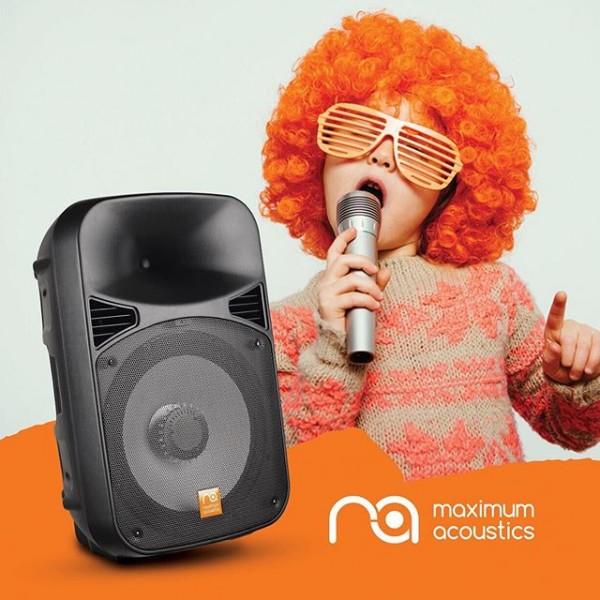 Мощный звук с собой! Автономный и активный, включил и звучишь ;-) На природу для создания музыкального настроения.  В клубе для караоке 🎤  Для бизнеса - да услышит Покупатель Вашу акцию! Идеальное звуковое оборудование для проведения BTL акций.  #maximumacoustics