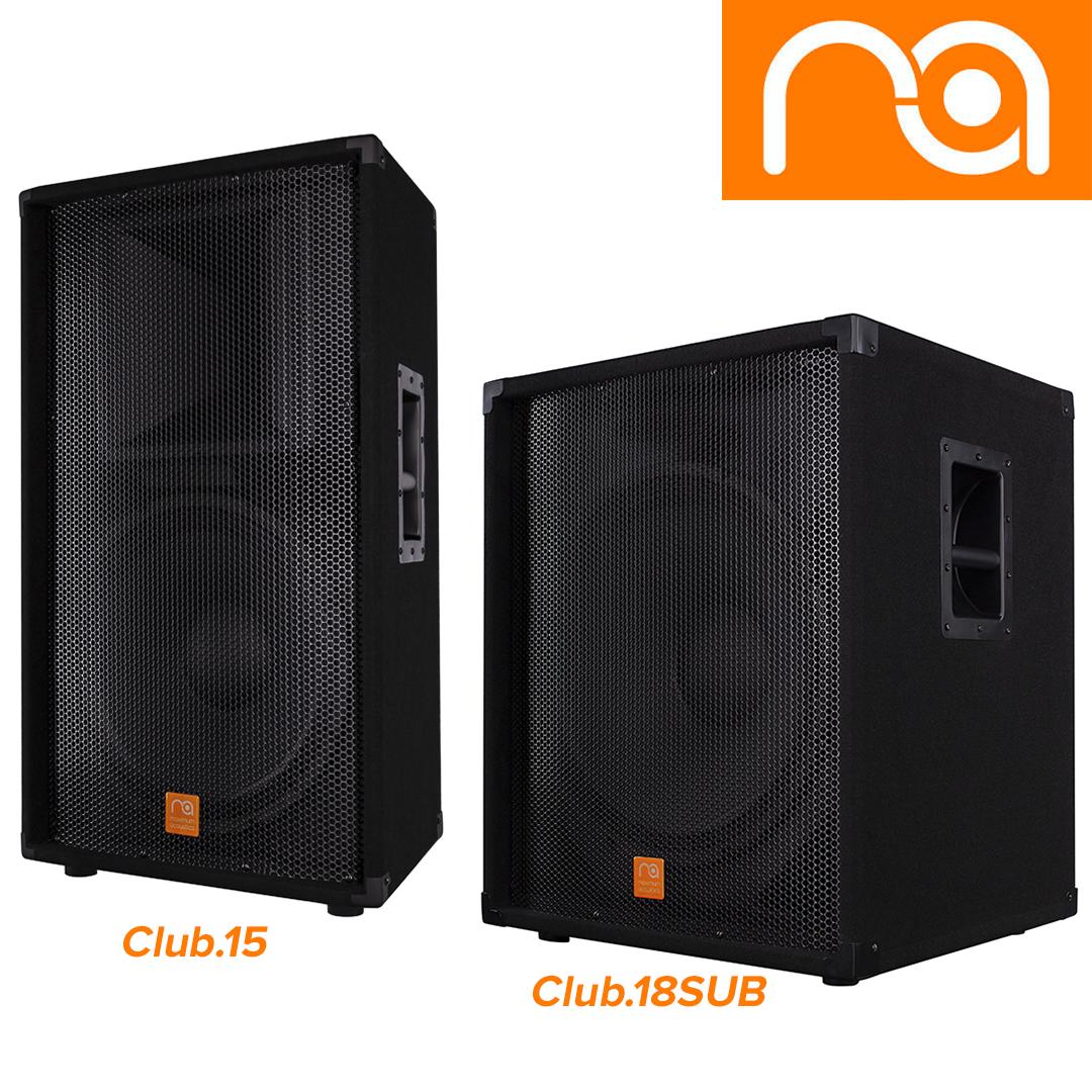New: CLUB.15 and CLUB.18SUB