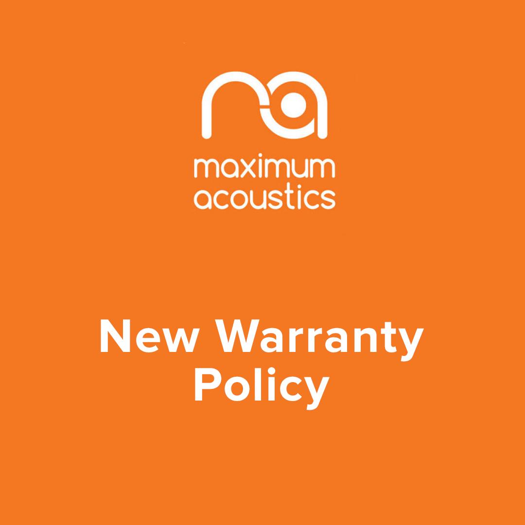 New warranty policy